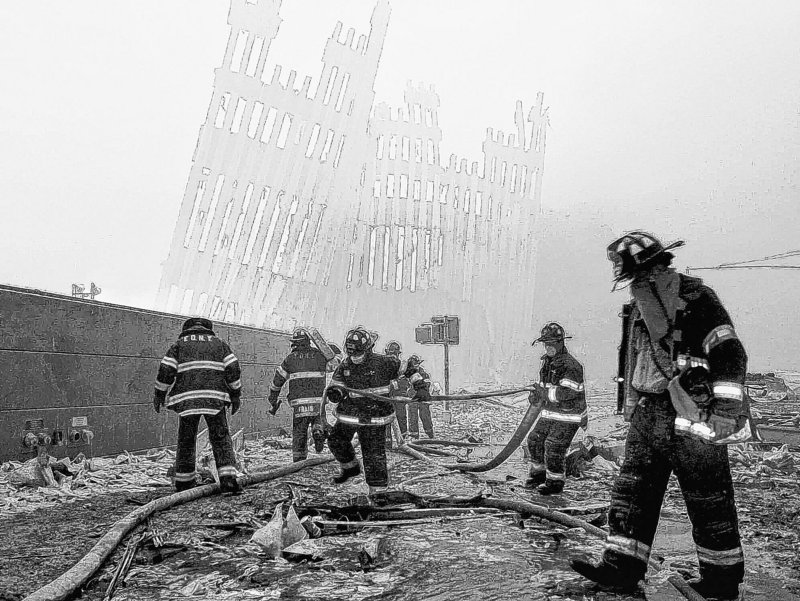 Ten years later is not the time to forget about police and firefighters who were lost on 9/11.