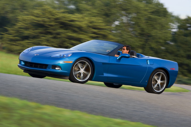 On the open road, the Corvette turns into a luxury car when you aren't pushing it to be a sports car.
