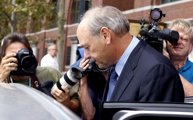 Salvatore DiMasi, former Massachusetts House Speaker, was sentenced to eight years for steering state contracts in exchange for kickbacks.