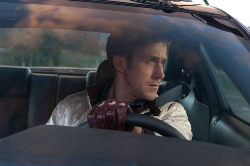 """Ryan Gosling (above) is the nameless driver and Carey Mulligan (below) a hard-luck young mom in """"Drive."""""""
