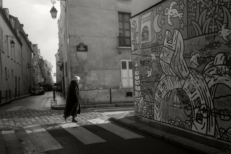"""Paris, Rue l Homonde"" by Ruth Sylmor at Addison Woolley."