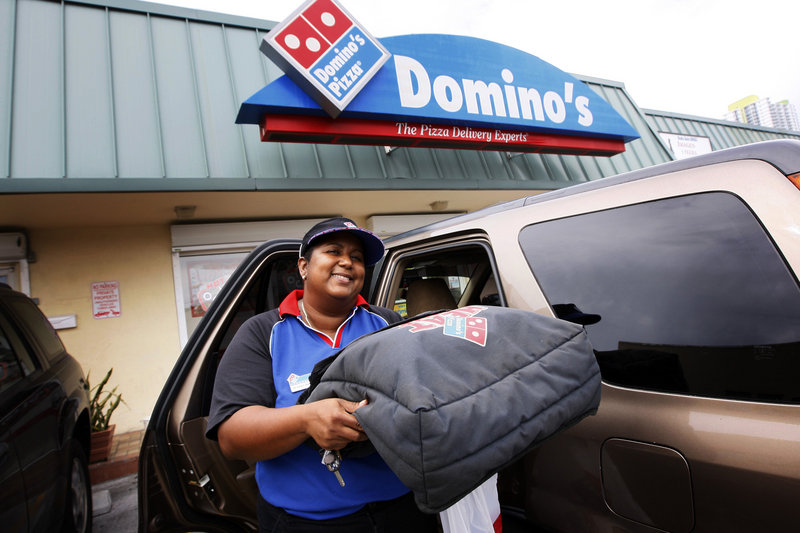 Despite the sour economy, Domino's Pizza finds that employees can be hard to come by – though the flexible hours appealed to Yocasta Valdez, who recently left her job at a day care center to be a Domino's driver in Miami.