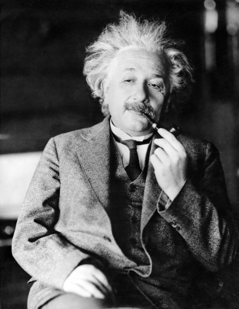File photo shows famed physicist Albert Einstein. Nothing is supposed to move faster than light, according to Einstein's theory of relativity.