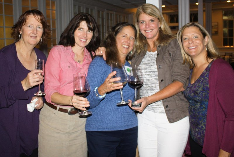 Monica Walls of Hollis, Ellen Hayward of Harpswell, Eileen Long of Dresden, Paula Lundgren of Saco and April Powell of Kennebunk.