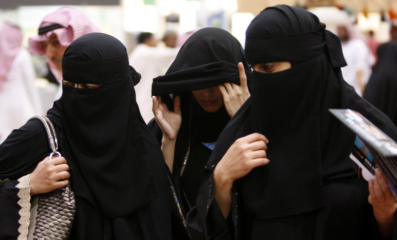 Saudi women, like these in Riyadh, are forced to hire live-in male drivers or rely on men in their families to drive them to work, school or anywhere they need to go.