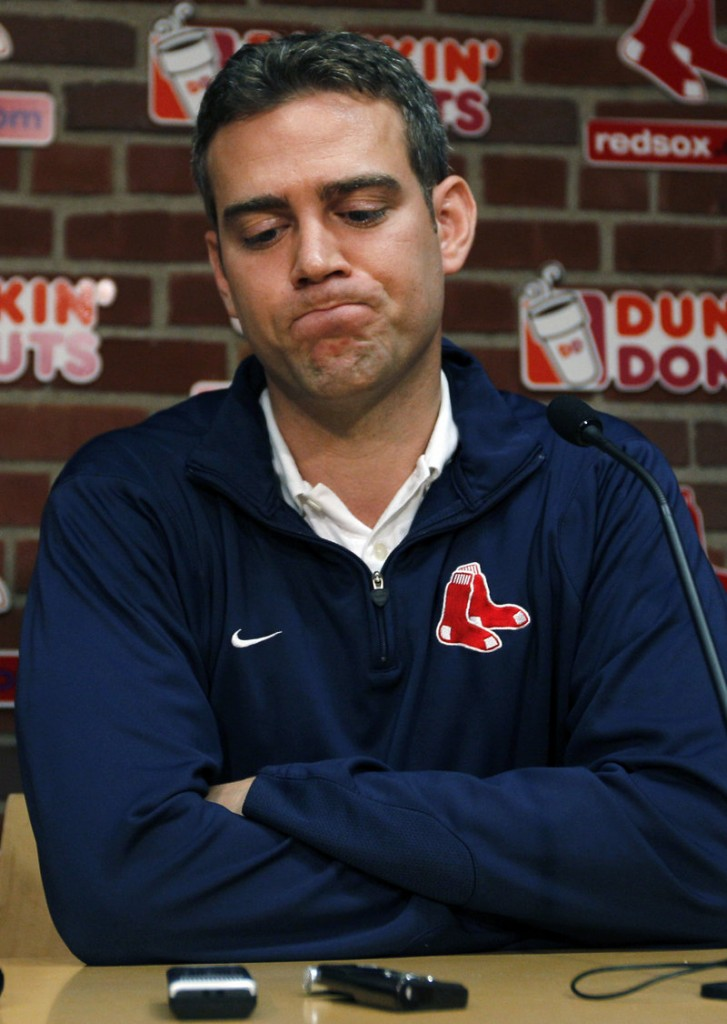 Theo Epstein, the general manager of the Boston Red Sox, built a team that appeared to be one of the best in baseball. But looking closely, signs of the September collapse could be seen all along.
