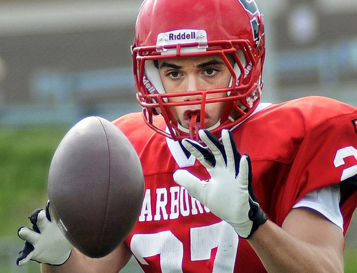 Scott Thibeault will move from fullback to tailback, as well as play linebacker for Scarborough, which has high hopes after advancing to the Western Class A semifinals in a breakout season a year ago.