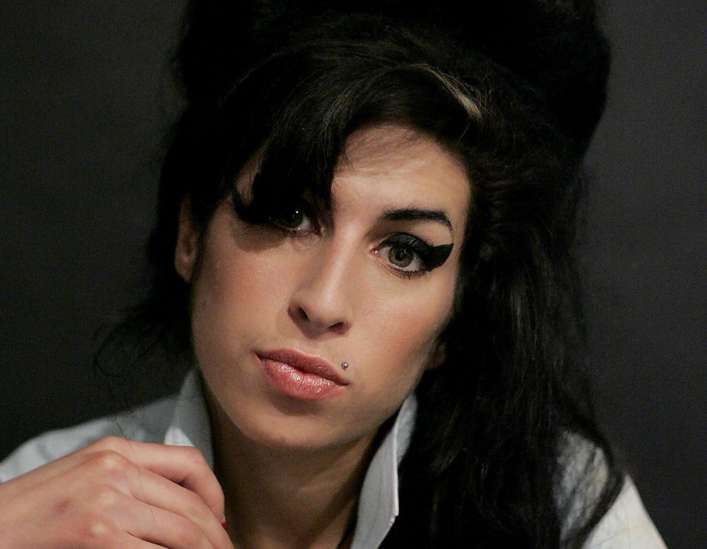 British singer Amy Winehouse, in a 2007 photo.
