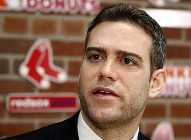 Boston Red Sox general manager Theo Epstein has one year left on his contract with the Red Sox. There was no word on whether the Sox are asking for compensation from the Cubs.