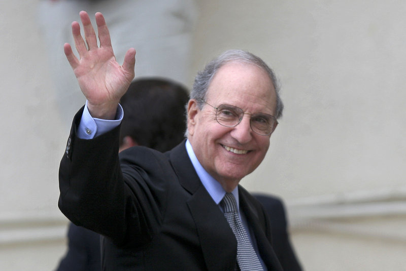 Former U.S. Middle East envoy George Mitchell says the Palestinians' bid to gain membership in the United Nations will worsen the prospects for peace with Israel. Mitchell will speak Wednesday at the University of Southern Maine.