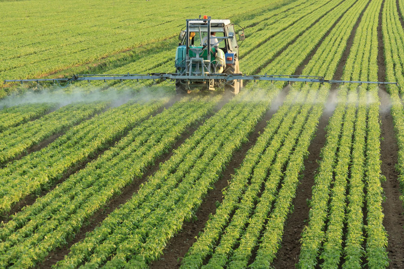 According to the federal Environmental Protection Agency, more than 1 billion pounds of pesticides are sprayed in the U.S. each year. In Maine in 2000, the most recent year for which the Maine Board of Pesticides Control could provide figures, farmers and foresters applied more than 3 million pounds of pesticides.