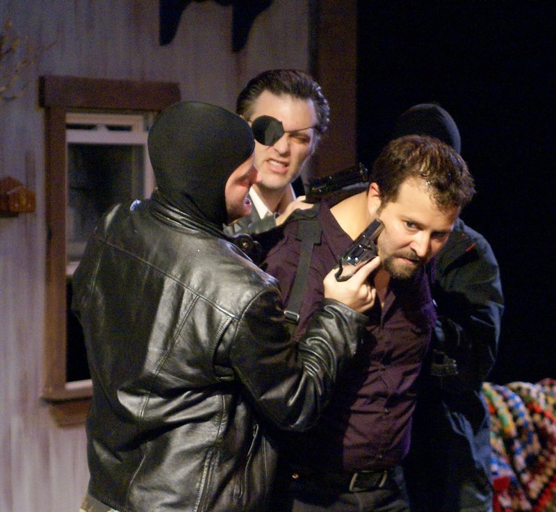 Scenes from 'The Lieutenant of Inishmore' by Mad Horse Theatre.