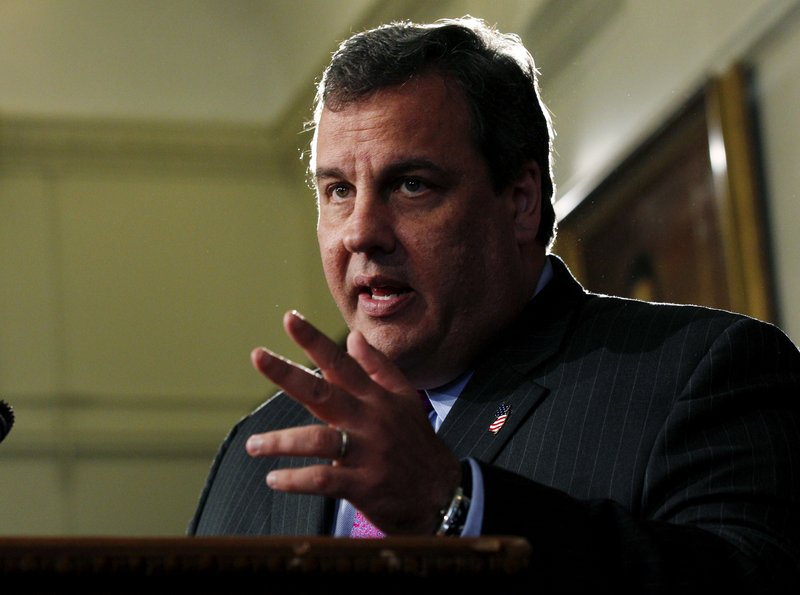 "New Jersey Gov. Chris Christie announces Tuesday that he will not run for president in 2012. ""I have a commitment to New Jersey I simply will not abandon,"" he told reporters."