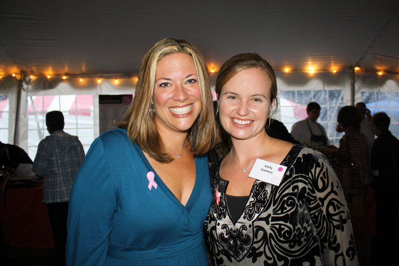 Rebecca Sacchetti and Emily Connors, who co-chaired the food committee