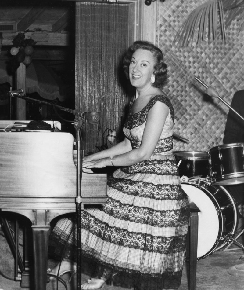 McPartland at the piano in the 1950s.