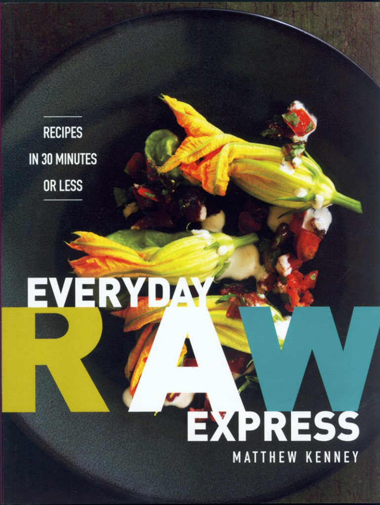 Kenney's latest cookbook, Everyday Raw Express sells for $19.99.