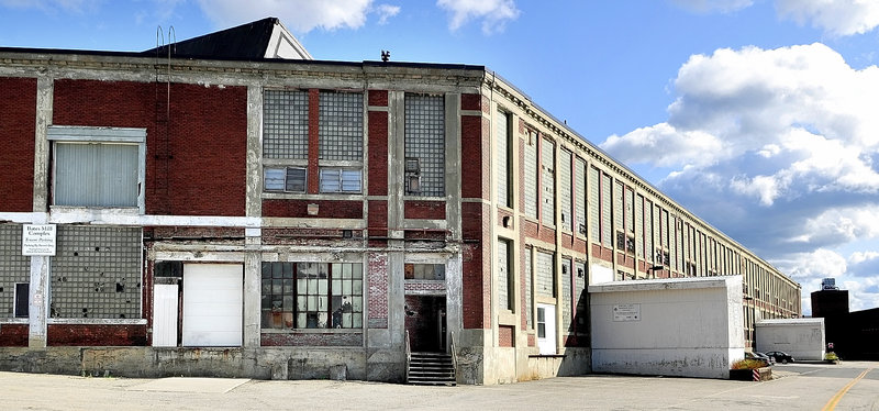 Bates Mill No. 5 in Lewiston is the proposed site of a casino.