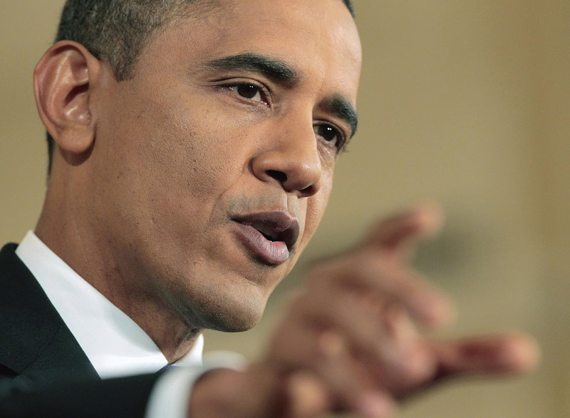 President Obama warned the GOP at a news conference Thursday that those who oppose his jobs proposal will have to explain their opposition to their constituencies