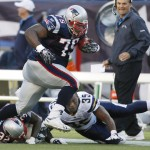 Vince Wilfork, Devin McCourty, Mike Tolbert