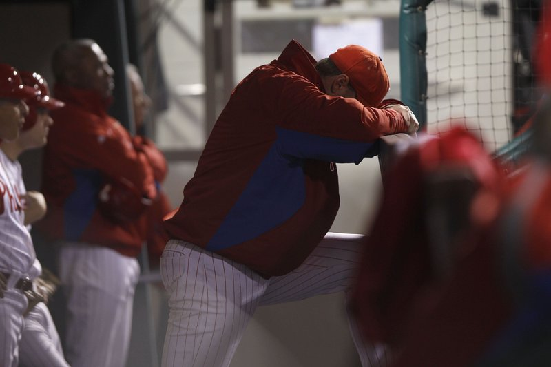 The Philadelphia Phillies were supposed to be celebrating at the end of October this season, not wondering what went wrong so early in the month.