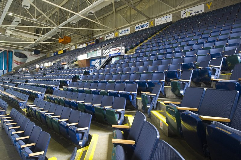 Seating improvements would be included in a Cumberland County Civic Center upgrade.