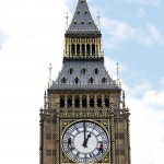 Britain's famous clock tower is nearly 18 inches out of line, a government report says.