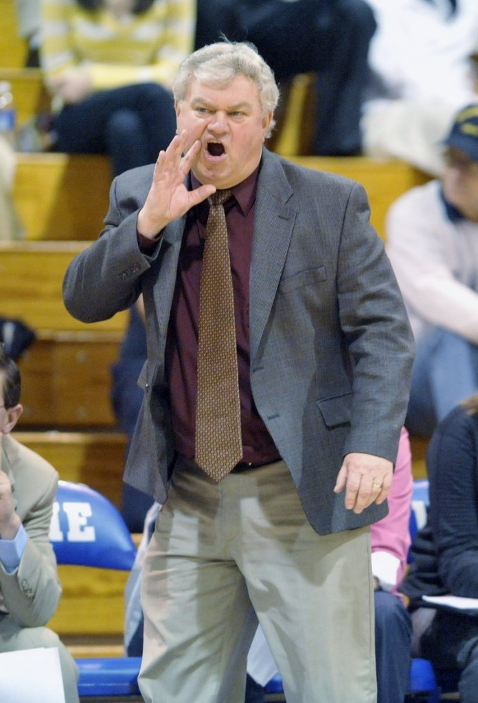 """Coach Gary Fifield's success as coach of the USM women means fewer than 20 wins in a season is a """"disappointment."""""""