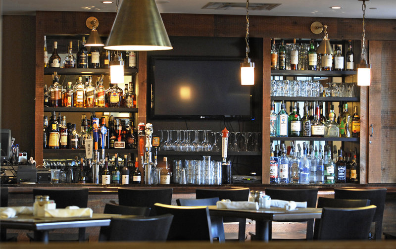The Tavern at Brunswick Station offers pub fare and more elaborate entrees in a welcoming setting across from Bowdoin College. Check out the duck sliders and crab cakes.