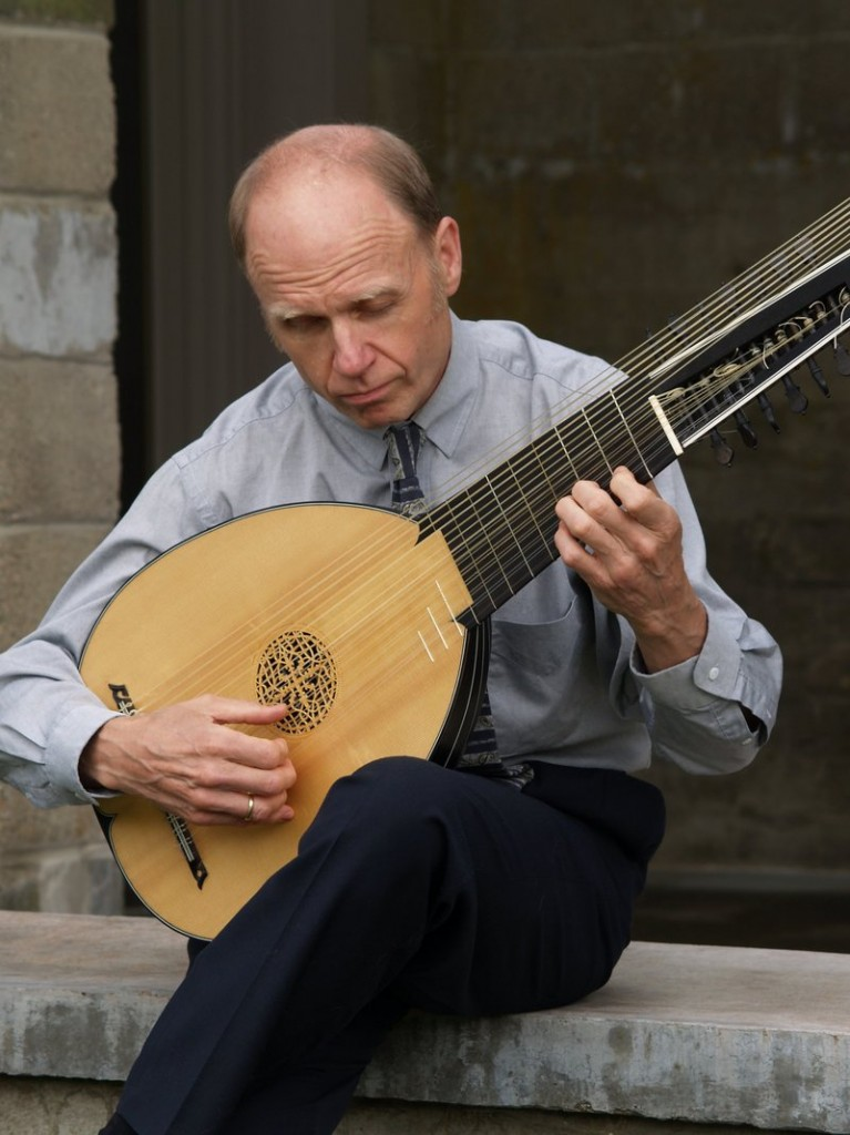 Portland-based lutenist Timothy Burris, who will be taking part in the upcoming Portland Early Music Festival.