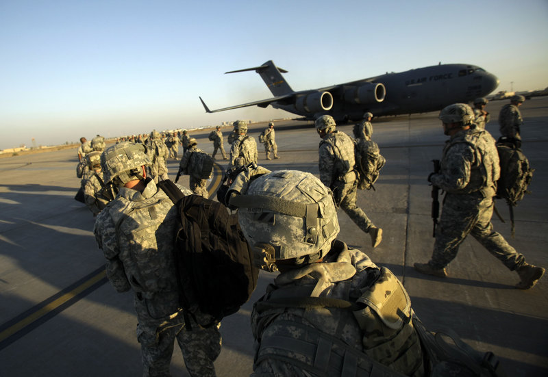 All of the nearly 40,000 U.S. troops remaining in Iraq will withdraw by Dec. 31, a deadline set in a 2008 security agreement, President Obama announced Friday.