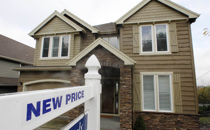 A home in Portland, Ore., is on the market on Monday at a reduced price.