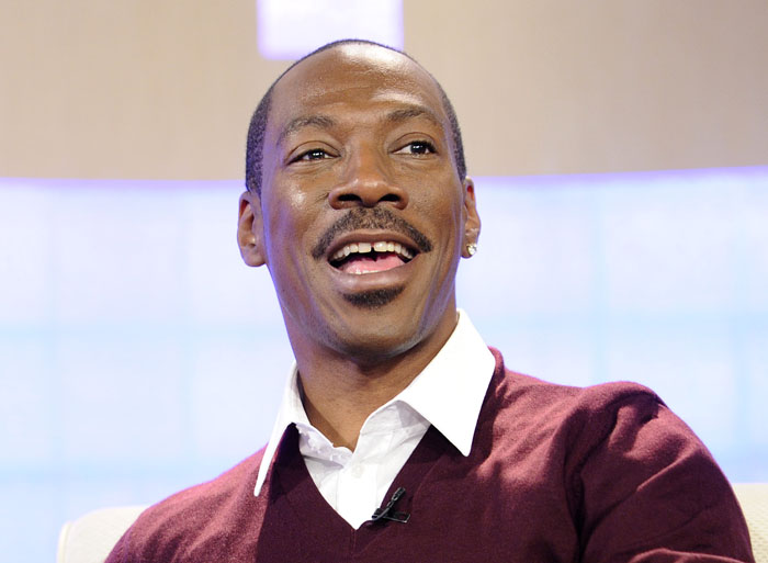 Actor Eddie Murphy appears on the