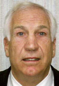 A Nov. 5, 2011, photo of Jerry Sandusky provided by the Pennsylvania Office of the Attorney General.