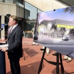 Neal Pratt, chair of the Cumberland County Civic Center board of trustees, discusses the proposed renovations.
