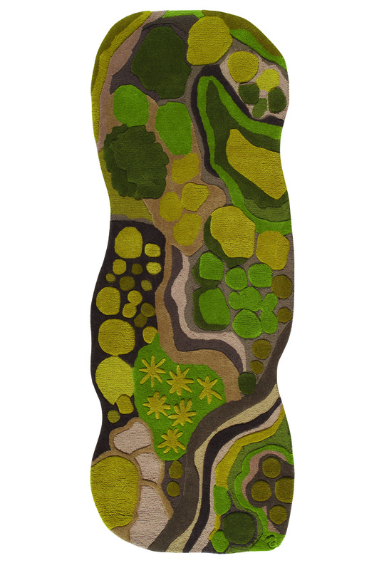 """""""Woods,"""" from Angela Adams' """"Pathways"""" collection"""