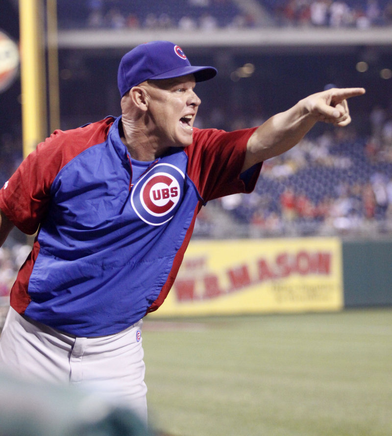 Mike Quade, who had a 71-91 record in his only full season as the Chicago Cubs' manager, was fired Wednesday, Terry Francona and Dave Martinez were mentioned as replacements.