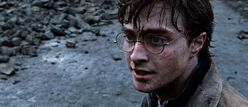 """Daniel Radcliffe in """"Harry Potter and the Deathly Hallows: Part 2."""""""