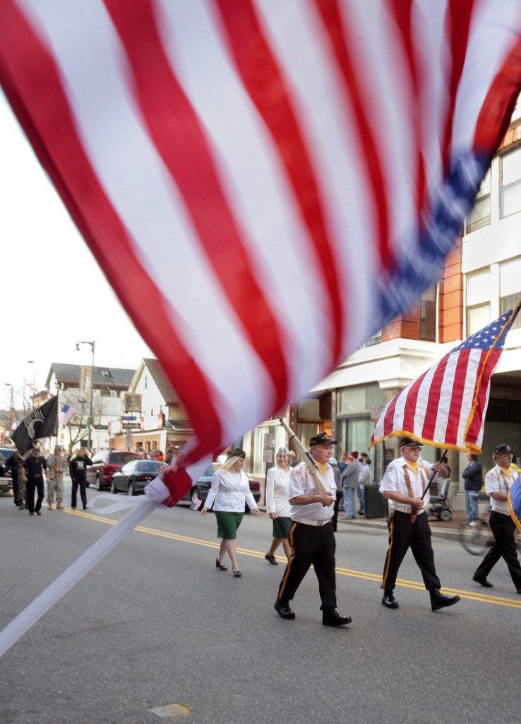 Veterans Day observances occur around the state on Friday, including the annual parade in Portland, which begins in Longfellow Square at 10:30 a.m.