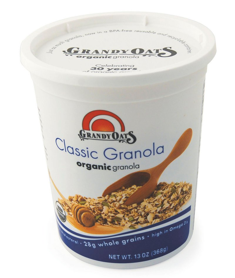 Maine-based Grandy Oats is praised in the