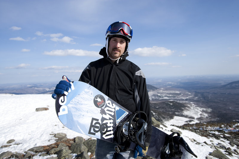 Seth Wescott of Carrabassett Valley, a two-time Olympic gold medal winner in snowboardcross, has embarked on a new adventure, taking a 300-foot cruise ship to Antarctica. This was an opportunity to go and explore a new place, he said.