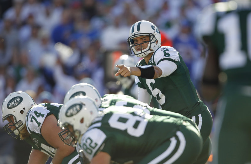 Mark Sanchez has helped the Jets to three straight wins entering tonight's AFC East showdown at home against New England.