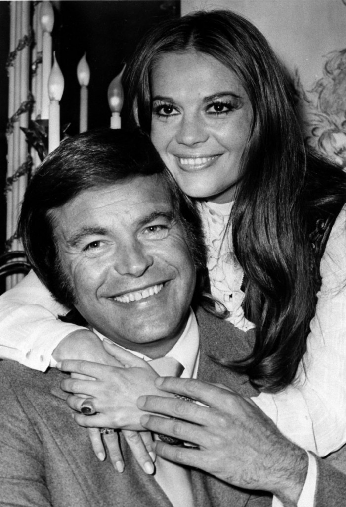 Actor Robert Wagner and actress Natalie Wood pose at the Dorchester Hotel in London in this 1972 file photo.