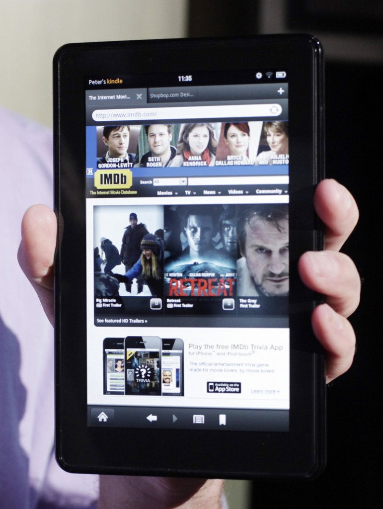 The Kindle Fire costs $201.70 to make.