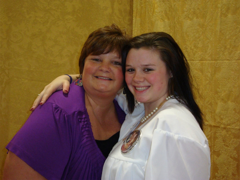 Teresa Parker is shown with her daughter, Katherine Parker, in this family photo. Mrs. Parker died Thursday at age 46 after a long and valiant battle with cancer.