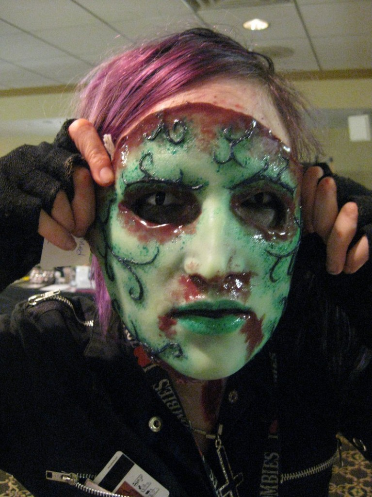 ... or a gruesome mask for the horror lover on your list.