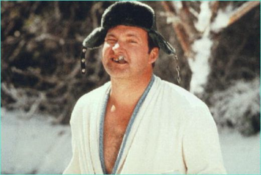 """They had to replace my metal plate with a plastic one. Every time Catherine would rev up the microwave, I'd (pee) my pants and forget who I was for about half an hour."" – Randy Quaid as COUSIN EDDIE in ""National Lampoon's Christmas Vacation."""
