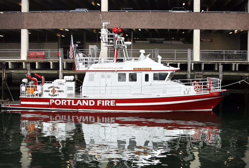 """Everything appears to be in good working order,"" Fire Chief Fred LaMontagne said of the City of Portland IV, which came home from a Rockland boatyard late Tuesday."