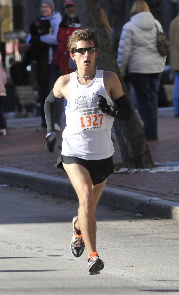 Jonny Wilson of Falmouth won the men's race to cap a busy year.