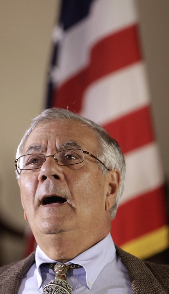 Democratic Rep. Barney Frank has represented the Bay State in Congress for 16 terms.