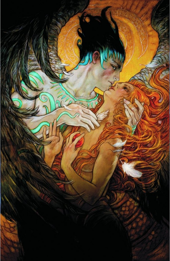"""Rebecca Guay, illustrator and co-creator of the fantasy books """"Flight of Angels"""" and """"The Last Dragon,"""" will sign from 6 to 8 p.m. Friday at Casablanca Comics in Portland."""